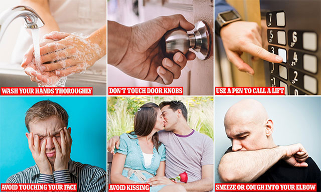 Đưa tay lên mũi, miệng và mắt là những con đường tốt nhất để virus xâm nhập vào cơ thể vật chủ.