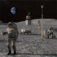 """NASA mở đợt xét tuyển người lên Mặt trăng, 1 """"chọi"""" 1.300"""