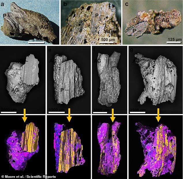 Vật liệu sao chổi được tìm thấy trong các mảnh thủy tinh được tạo ra từ kẻ tấn công ngoài Trái đất