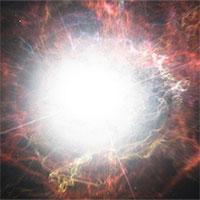 Mô phỏng sao lớn gấp 1.000 lần Mặt trời phát nổ