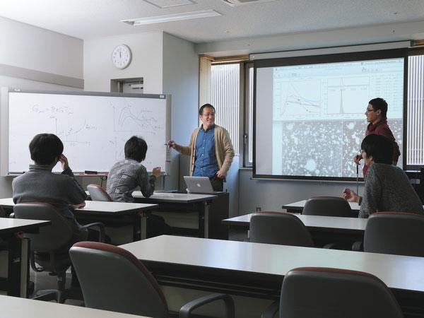 Phòng thí nghiệm thiên văn học của giáo sư Totani