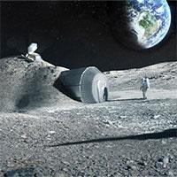 Xây dựng các khu định cư trên Mặt trăng nhờ… nước tiểu