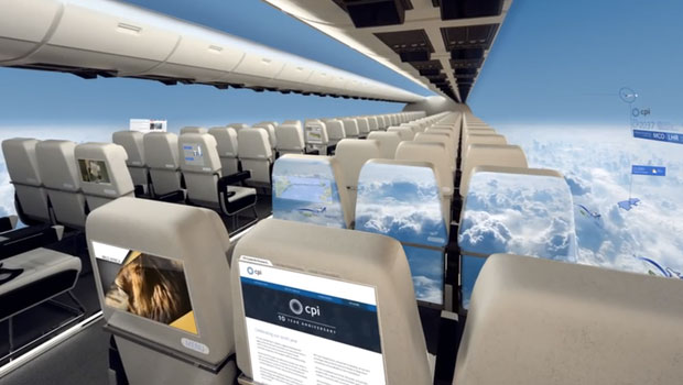 """Máy bay… """"trong suốt"""" sắp ra mắt trong tương lai, nhìn thôi đã muốn rớt tim ra ngoài"""