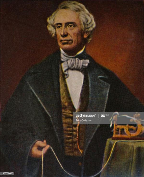 Samuel Finley Breese Morse (1791 - 1872).
