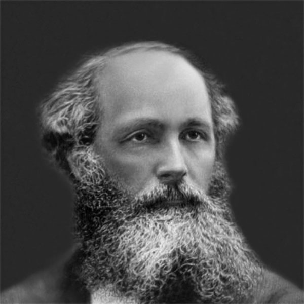 Nhà vật lý học James Maxwell.