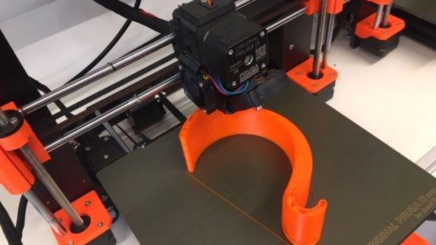 Nắm đấm cửa in 3D.