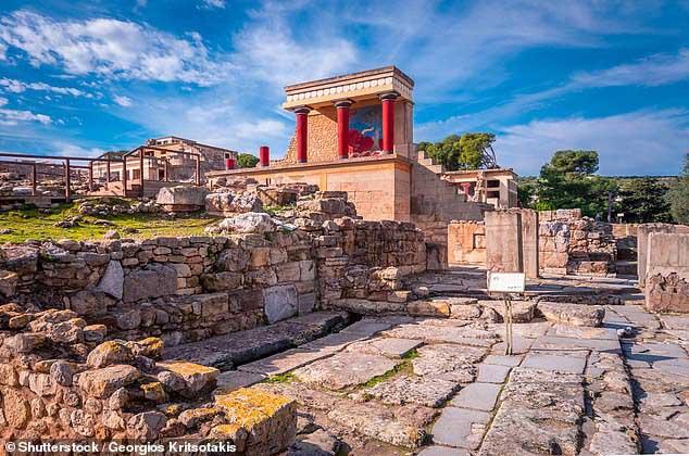 Phế tích Minoan - đế chế huy hoàng thời cổ đại