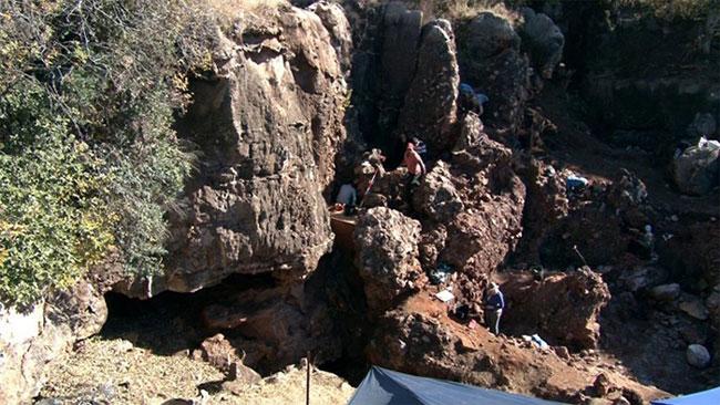 Khu phức hợp hang động Drimolen, địa điểm phát hiện DNH 134.
