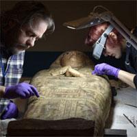 Những bức vẽ 3.000 năm tuổi trong quan tài chứa xác ướp