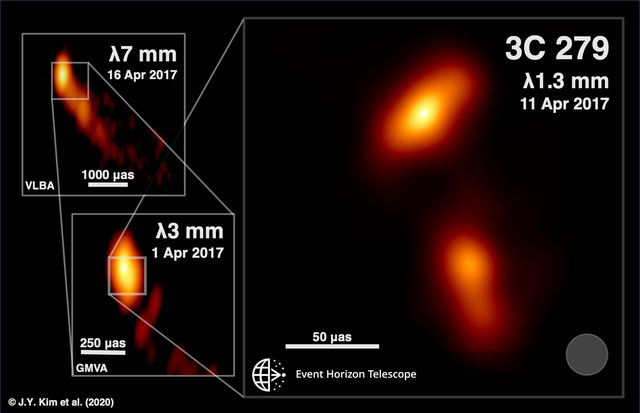 Ảnh chụp gần nhất của lỗ đen.