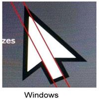 Sự thật ít người biết: Con trỏ chuột của Windows không đối xứng, lỗi thiết kế hay có mục đích