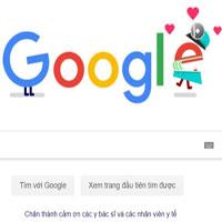 Covid-19:  Google cảm ơn sự hy sinh thầm lặng của y bác sĩ