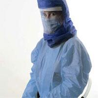 """""""Lá chắn khí"""" bảo vệ nhân viên y tế điều trị Covid-19"""