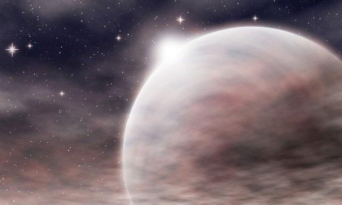 Mô phỏng hành tinh xốp KELT-11b.