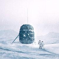 Ngôi nhà tí hon phục vụ việc sống trên Mặt trăng
