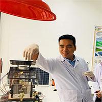 Tiến sĩ Việt Nam lai tạo vật liệu thay thế bạch kim