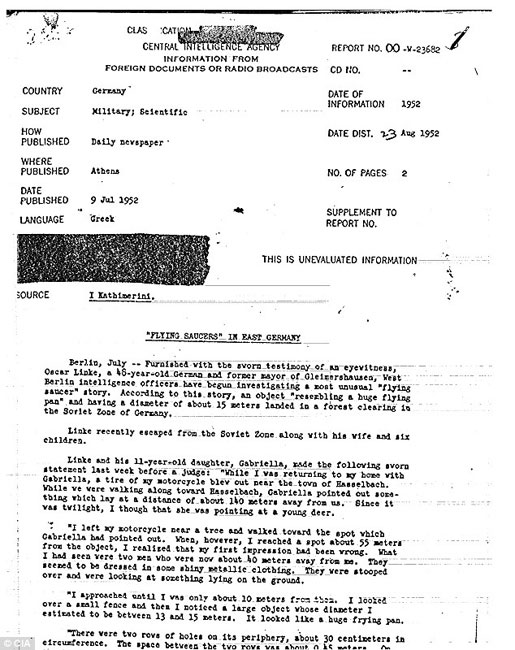 Tài liệu về ufo