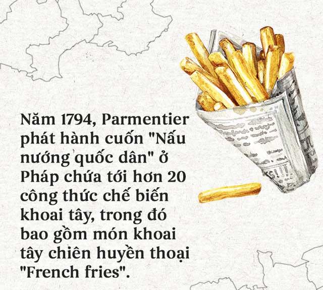 French fries - món khoai tây chiên huyền thoại