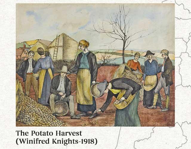 Khoai tây là thứ lương thực đã giúp toàn bộ Châu Âu trở nên phồn thịnh.