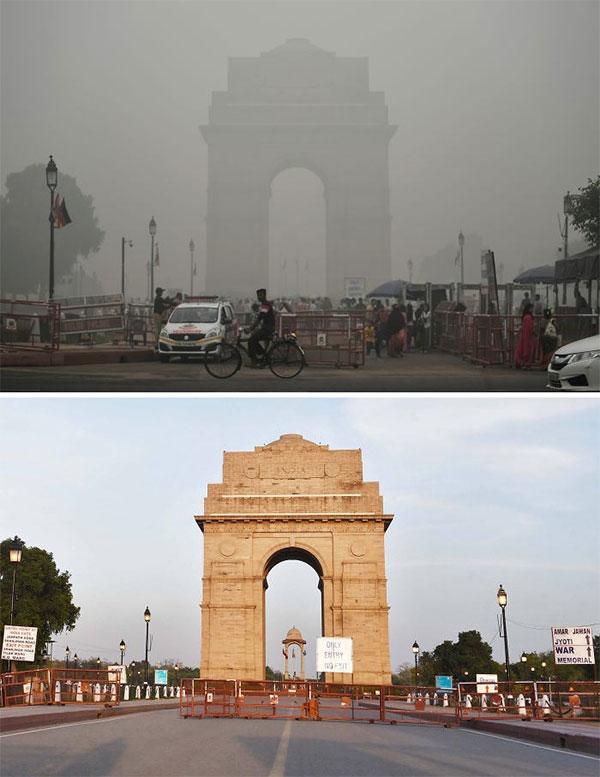 Đài tưởng niệm chiến tranh India Gate tại Ấn Đ