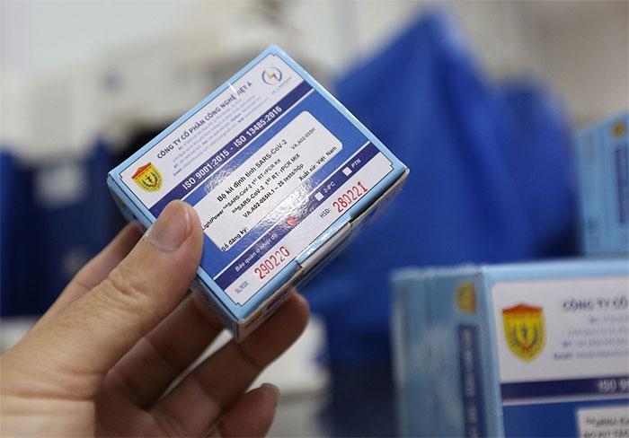 Bộ Kit xét nghiệm nCoV do Việt Nam sản xuất đạt tiêu chuẩn châu Âu.