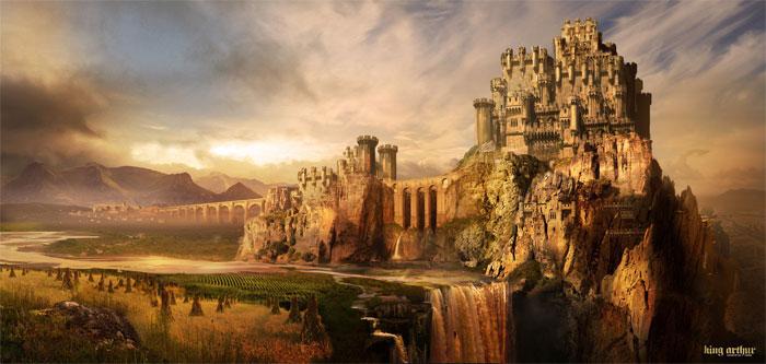 Một giả thuyết khác lại cho rằng vị trí của Camelot là thị trấn hư cấu Carduel.