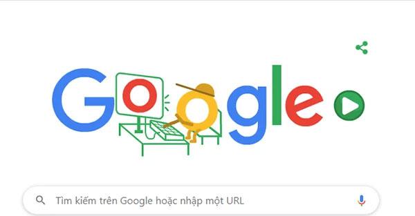 Google Doodle ngày hôm nay.