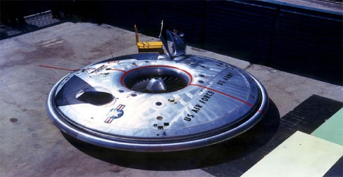 VZ-9 là dự án đĩa bay bí mật của Lầu Năm Góc.