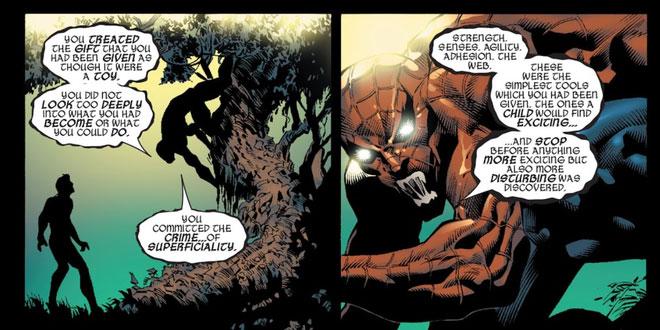 Cơ thể của Peter luôn luôn thay đổi và luôn luôn có năng lực mới - gần về phía nhện nhiều hơn
