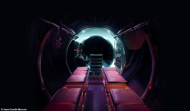Tàu ngầm được chế tạo bởi công ty Triton Submarines