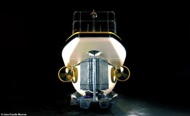 Tàu ngầm Triton Deepview 24 được làm theo đơn đặt hàng của Hệ thống Khách sạn nghỉ dưỡng Vinpearl.