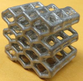 Những mạng khối hình lập phương như tổ ong
