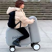 Thiết kế mẫu xe đạp điện để vừa trong ba lô