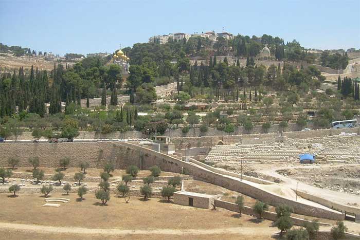 Núi Olive là nghĩa trang được sử dụng lâu đời nhất trên thế giới