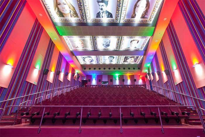 Rạp chiếu phim City là nơi lý tưởng cho những người yêu thích điện ảnh.