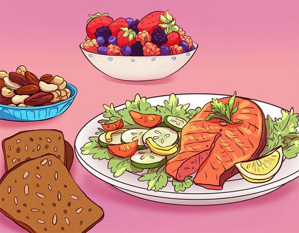 Ăn lành mạnh, giàu dinh dưỡng