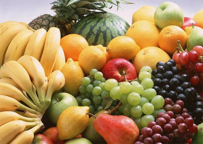 Trái cây nên được sử dụng nhiều vào buổi sáng.