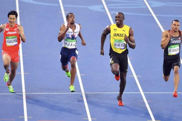 Người chạy nước rút nhanh nhất lịch sử là Usain Bolt.