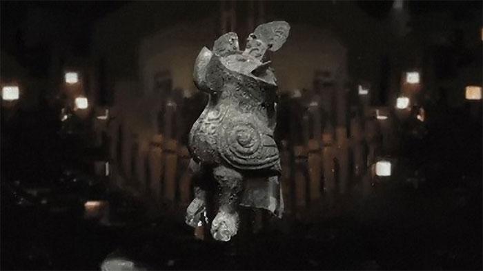 Nhiều cổ vật được khai quật trong các ngôi mộ cổ của nhà Thương có hình ảnh của một con cú