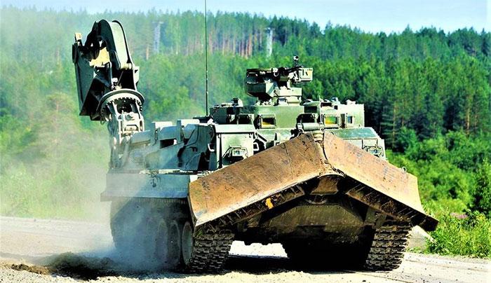 UBIM - xe công binh đa năng mới của Quân đội Nga.