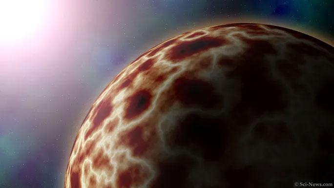 Mô tả về siêu Trái đất chết chóc trong hệ sao mới được phát hiện.