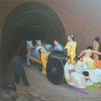Tục tuẫn táng: Phi tần bị ép uống thuốc độc, đổ thủy ngân vào người và nhiều phương pháp man rợ trước khi bị chôn sống cùng vua