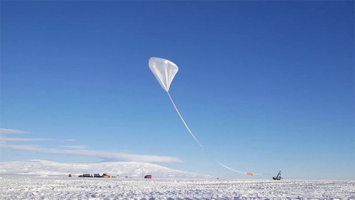 Các quả bóng chứa khí heli sẽ lơ lửng ở độ cao hơn 30.000 mét nhằm thu thập dữ liệu.