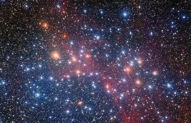 Ngôi sao già này có tuổi kém hơn vũ trụ vài trăm triệu năm.