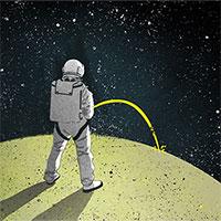 Nước tiểu của phi hành gia ở Mặt trăng có ích hơn Trái đất