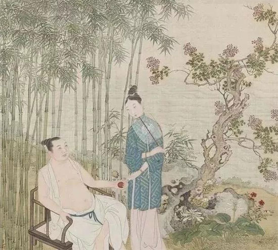 Ảnh minh họa trang phục mùa hè của đàn ông thời cổ đại.