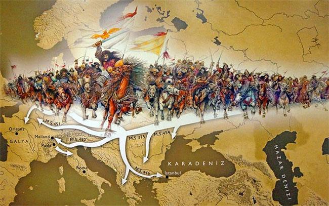 Người Bắc Hung Nô đã có một hành trình vĩ đại về phương Tây