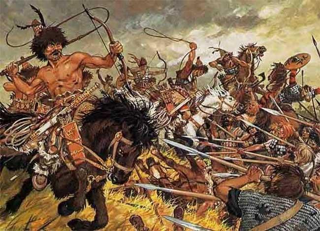 Dấu ấn đầu tiên của người Hung Nô tại châu Âu là việc xâm chiếm thành công lãnh thổ Đông Goth.