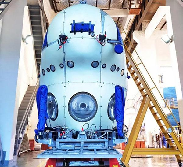 Tàu thám hiểm biển sâu mới của Trung Quốc sắp được đưa vào thử nghiệm.