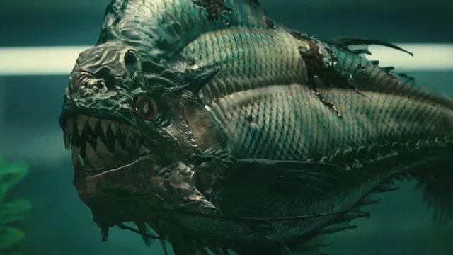 Megapiranha đã từng xuất hiện trên phim ảnh.